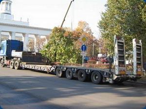 перевозка негабаритных грузов Спецтехника Мазант Групп.