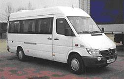 Пассажирские перевозки на микроавтобусах Mercedes Sprinter