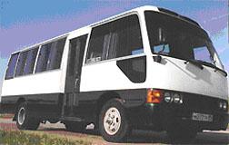 Пассажирские перевозки на микроавтобусах Toyota Koaster