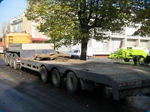 перевозка негабаритных грузов Спецтехника Мазант Групп: Марка тягача - Ман